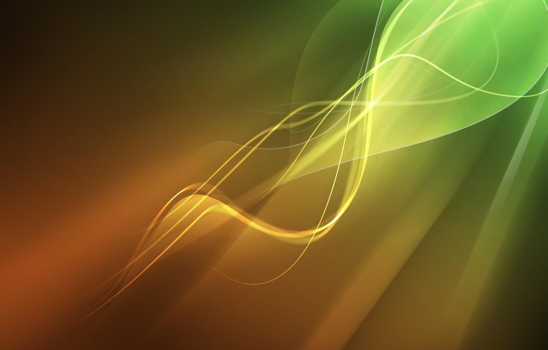 Photo wallpaper line, color, curves