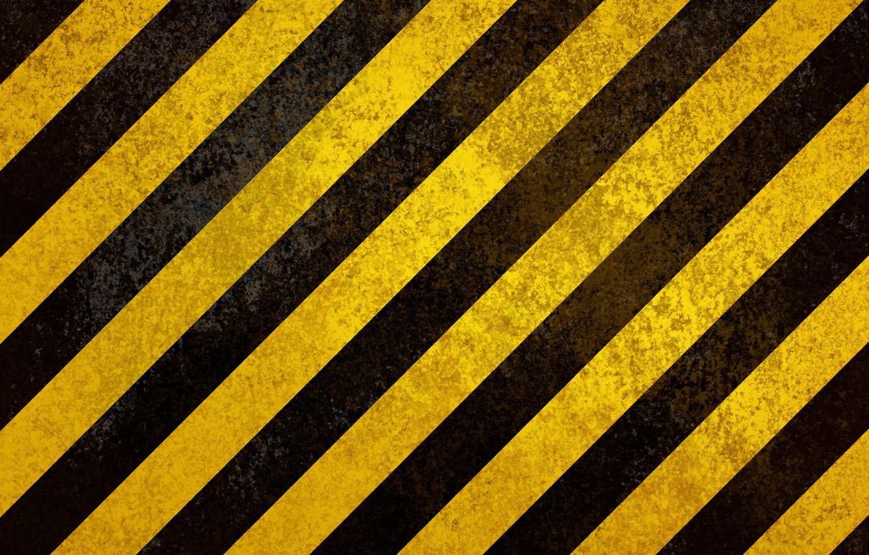 Photo wallpaper strip, yellow, black, strokes