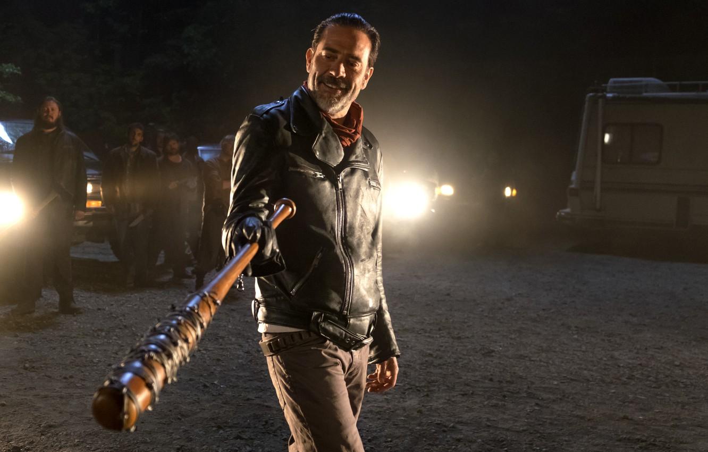 Wallpaper Jeffrey Dean Morgan The Walking Dead Season 6 Negan