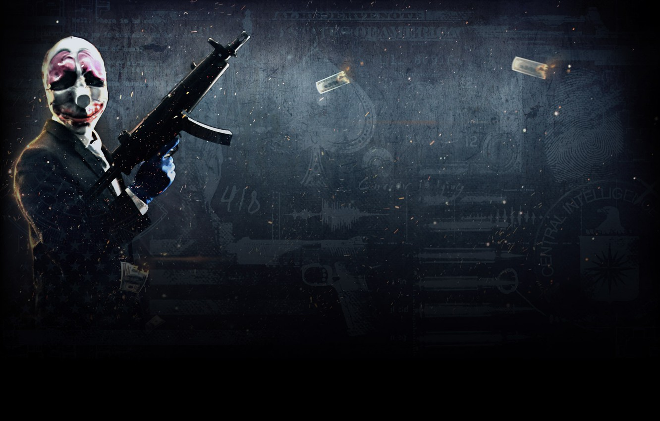 Wallpaper Heist Payday 2 Hoxton Payday Images For Desktop