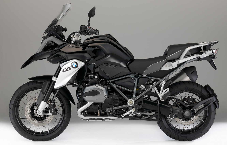 Photo wallpaper black, bmw, BMW, motorcycle, new