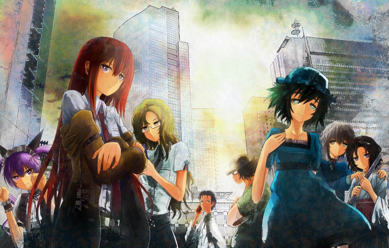 Wallpaper Girls Anime Art Men Makise Kurisu Okabe