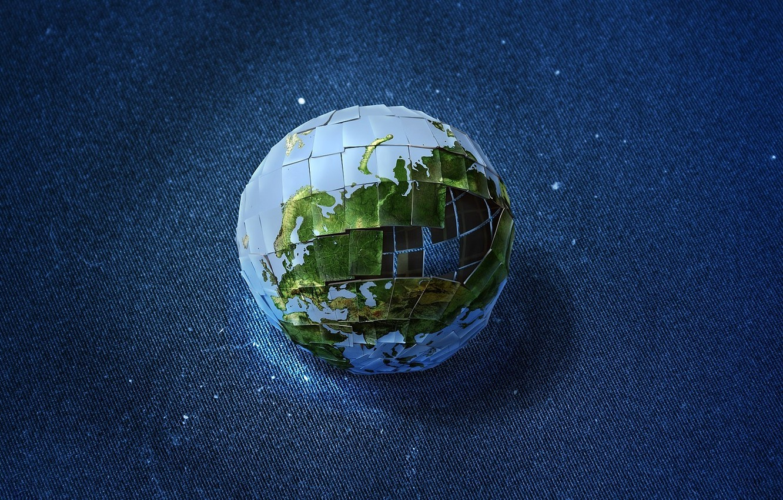 Photo wallpaper earth, pictures, Zeek Barnaulsky, Incompleteness