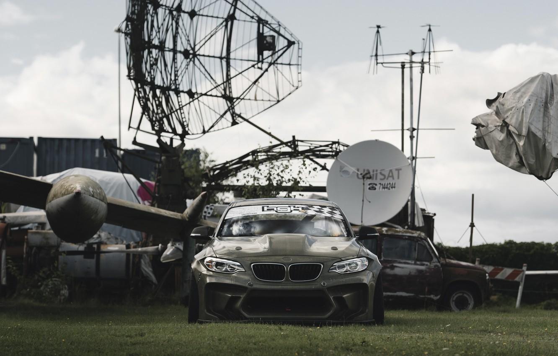 Photo wallpaper the plane, bmw, BMW, ZAZ, radar