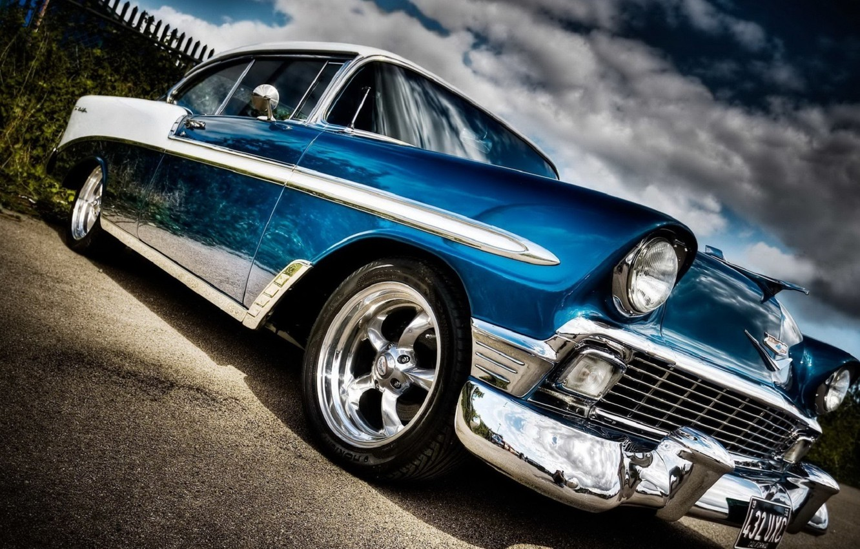 Photo wallpaper Chevrolet, Bel Air, 1958
