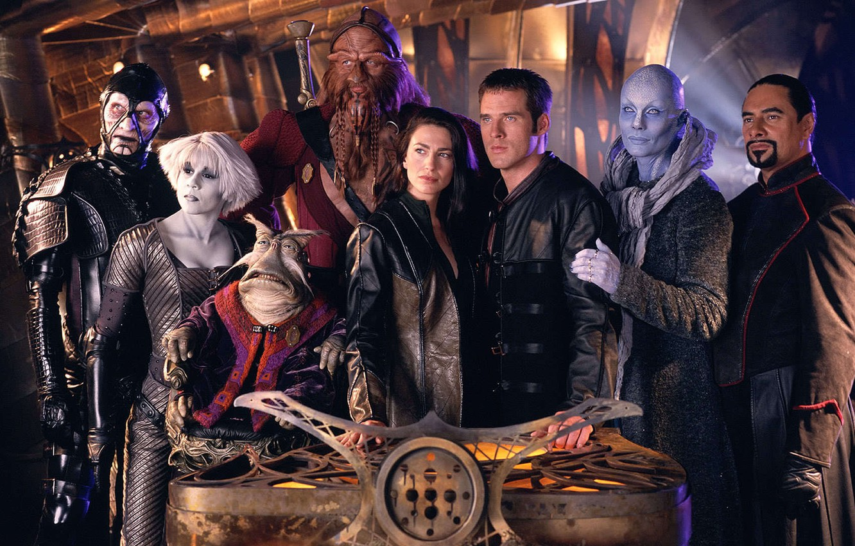 Photo wallpaper ship, the series, actors, the room, are, Far across the Universe, farscape