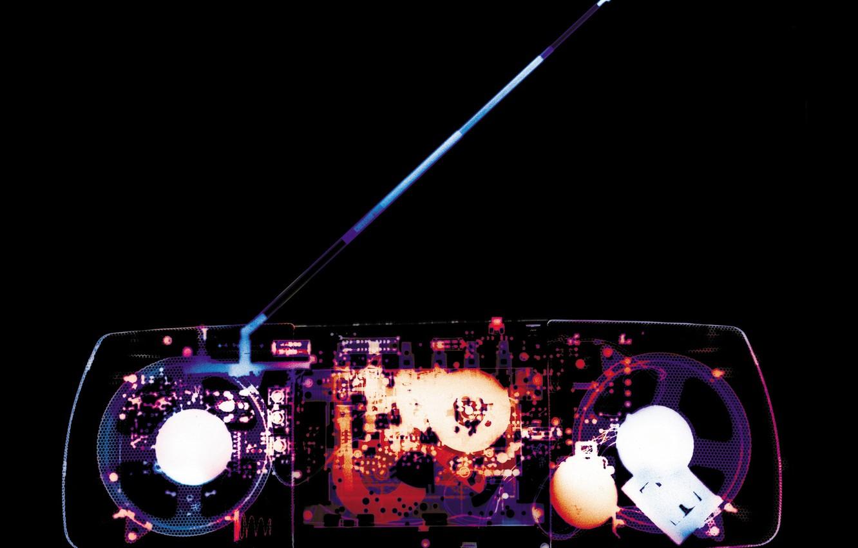 Photo wallpaper x-ray, magnitafon, Antena