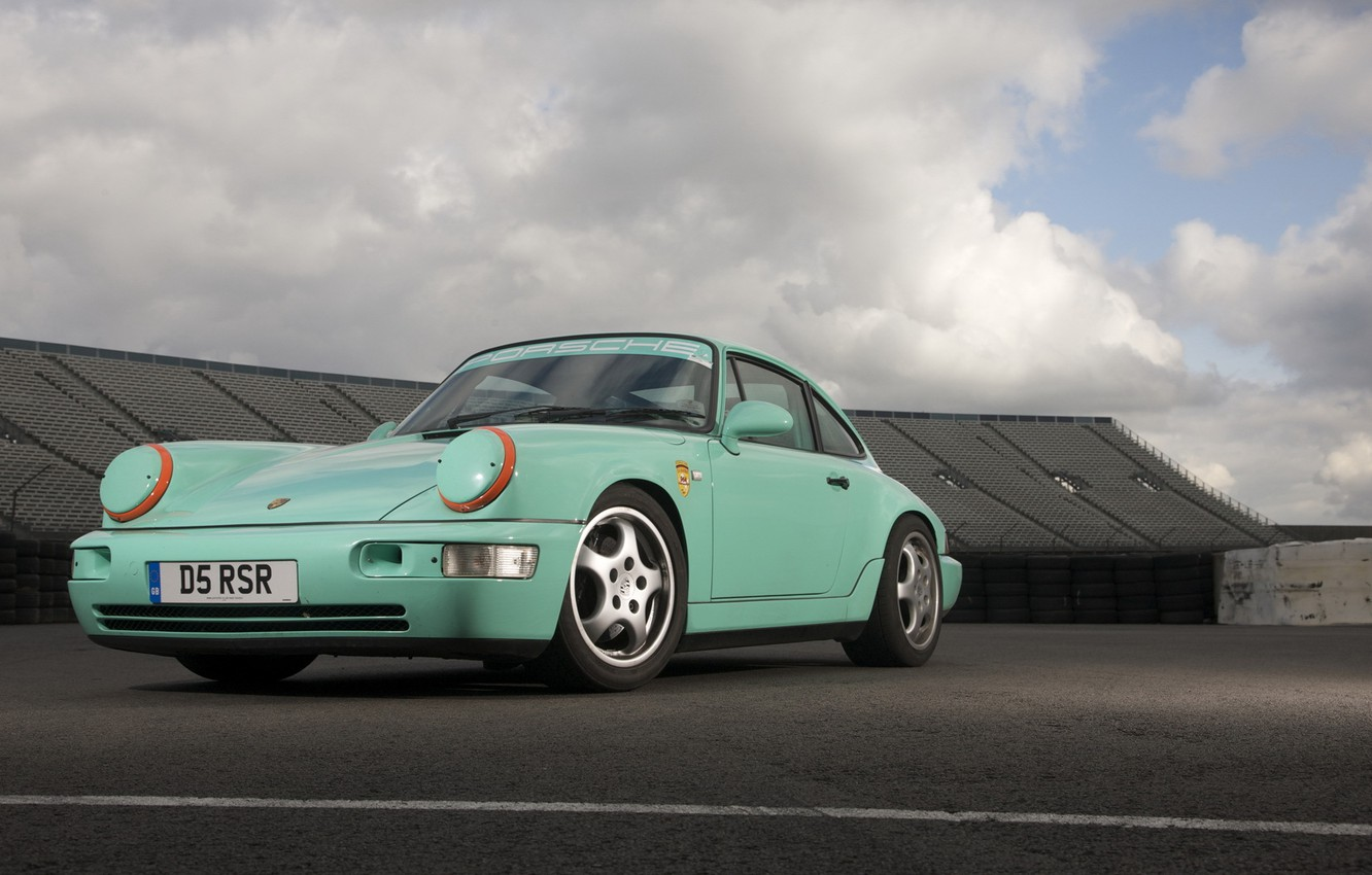 Photo wallpaper porsche, 964, exclusive