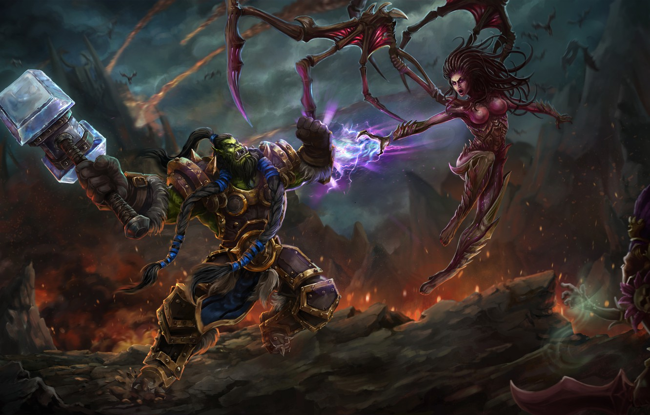 Wallpaper The Game Battle Art Location Heroes Of The Storm