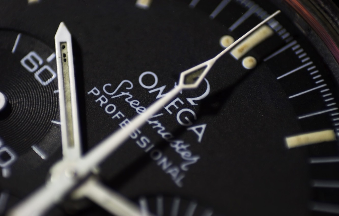 Photo wallpaper watch, dial, omega