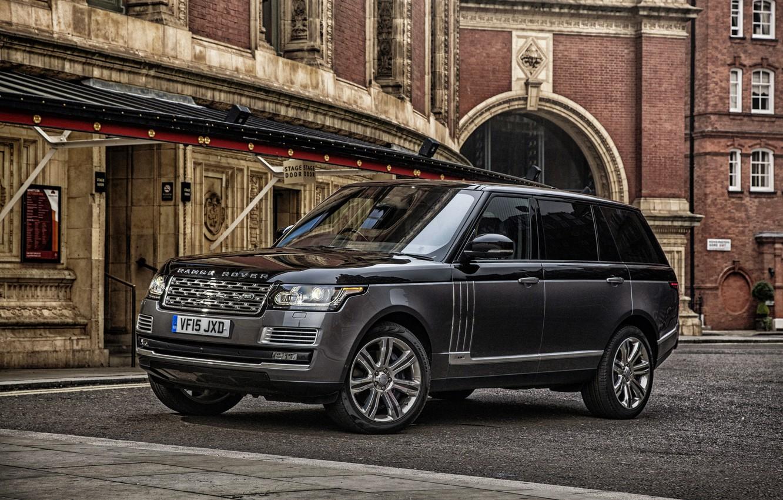 Photo wallpaper Land Rover, Range Rover, range Rover, land Rover, SVAutobiography