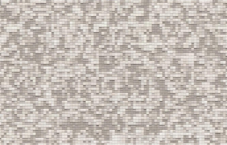 Photo wallpaper grey, great, pixel, digital camo