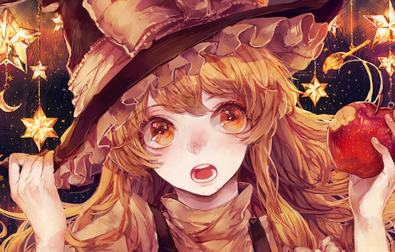 Marisa Kirisame Touhou Witch Picture Wallpaper   Free Wallpapers