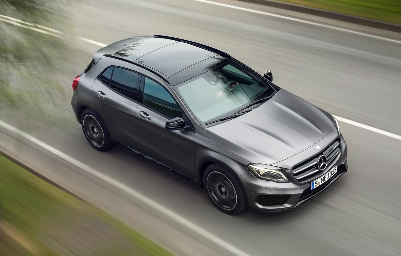 Photo wallpaper Mercedes-Benz, GLA, 2015