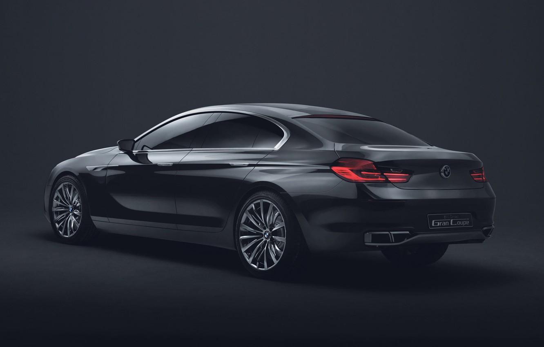 Photo wallpaper BMW, The concept, Gran Coupe