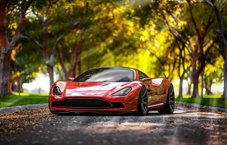 Photo wallpaper Concept, Aston Martin, DBC