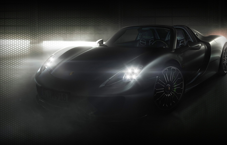 Photo wallpaper Porsche, sportcar, Spyder, 918, hybrid