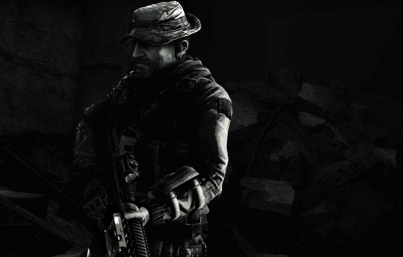 Wallpaper Call Of Duty Modern Warfare Sas John Price
