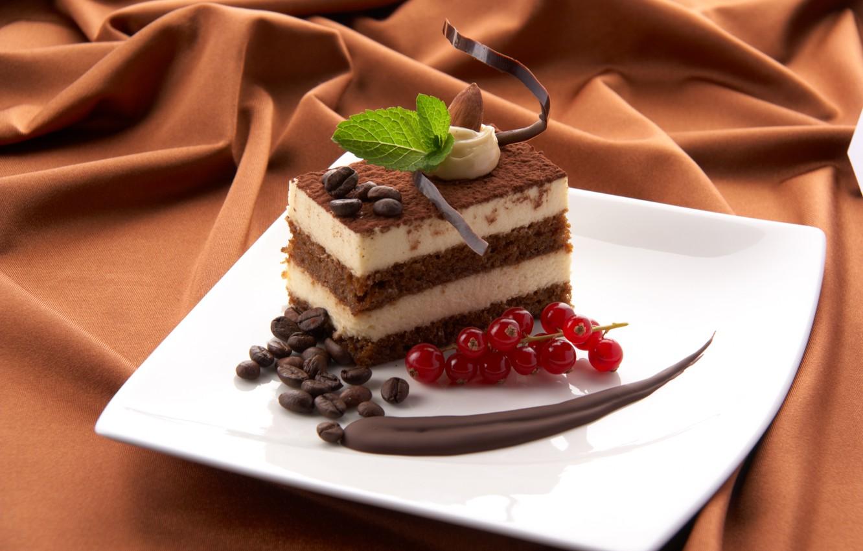 Photo wallpaper coffee, food, chocolate, grain, cake, dessert, cake, sweet