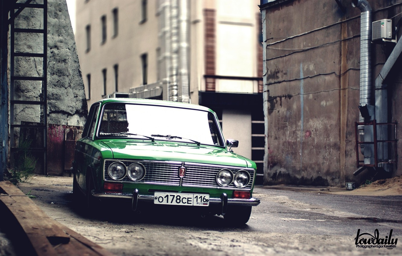 Photo wallpaper yard, Lada, vaz, VAZ, lada, Lada, 2103, low classic