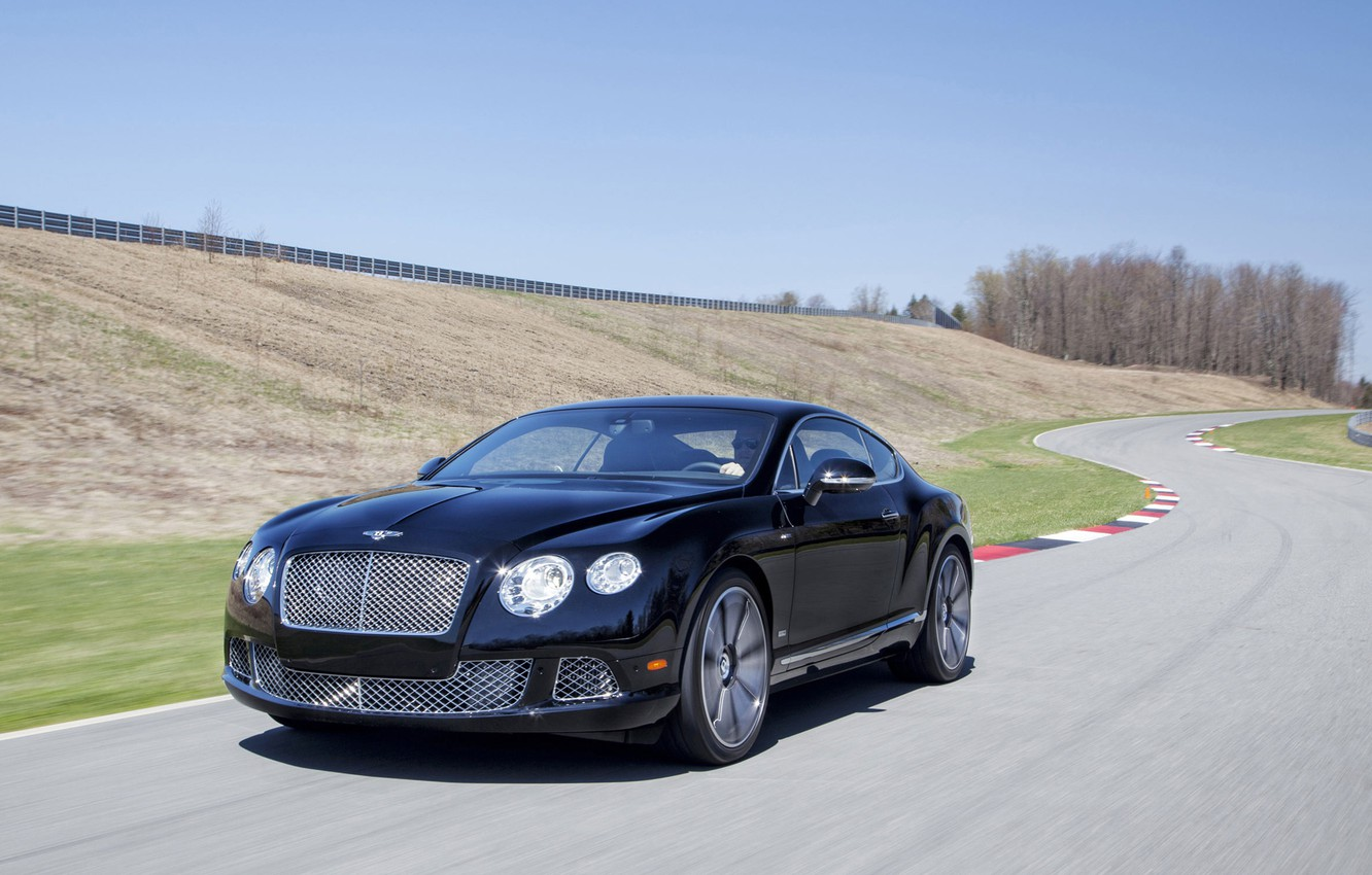 Photo wallpaper Bentley, Continental GT, W12, The Le Mans Edition