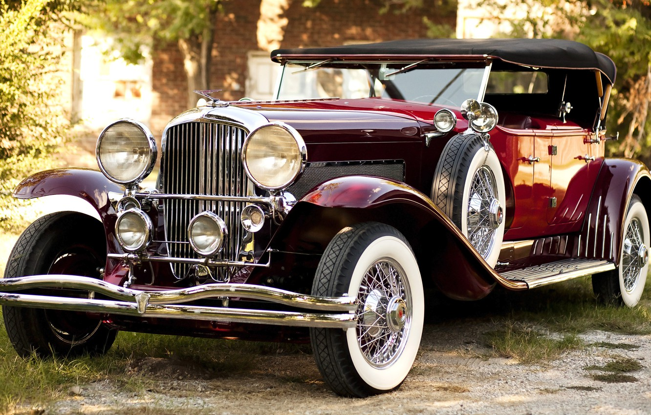 Photo wallpaper Sport, 1978, Duesenberg, Phaeton, Dual Cowl, dusenberg, Re-creation, Glenn Pray