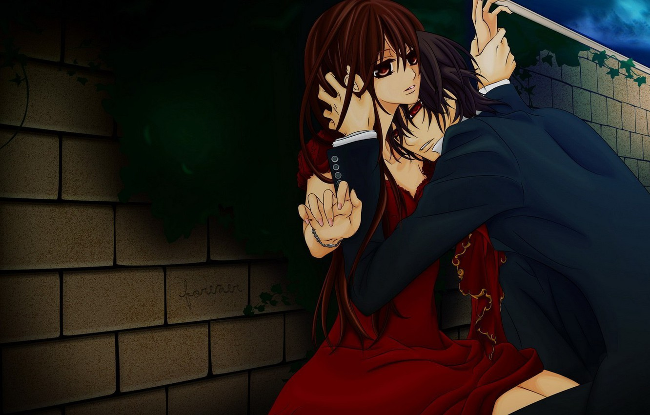 Photo wallpaper anime, vampire knight, knight-vampire, yuki, Yuki, Kaname