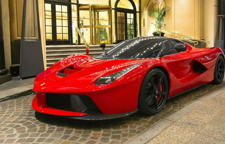Photo wallpaper Ferrari, supercar, hybrid, LaFerrari, F70/F150