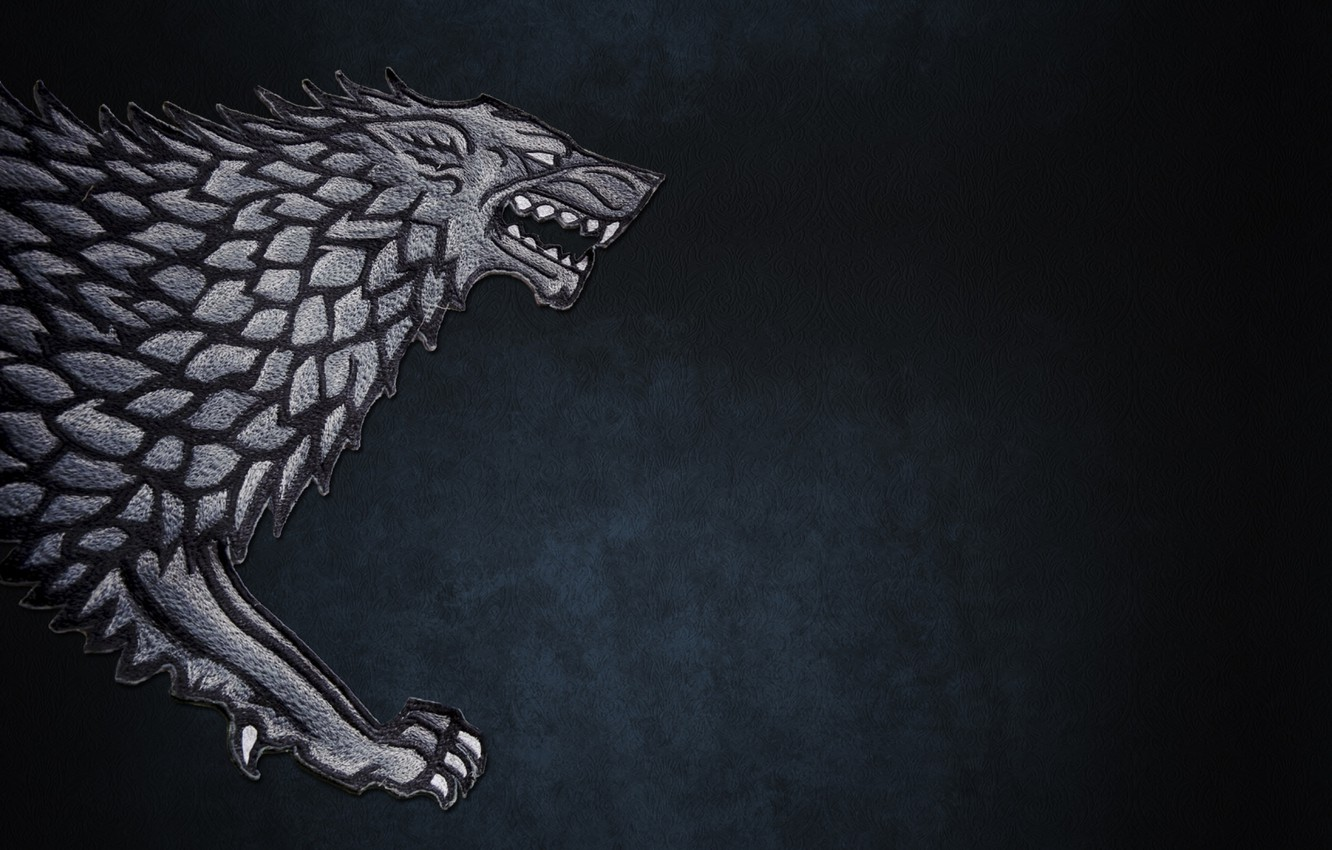 Wallpaper The Direwolf Game Of Thrones Game Of Thrones
