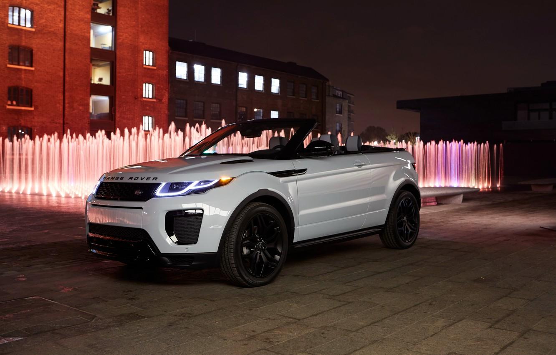 Photo wallpaper white, Land Rover, Range Rover, Evoque, Ewok, land Rover, range Rover