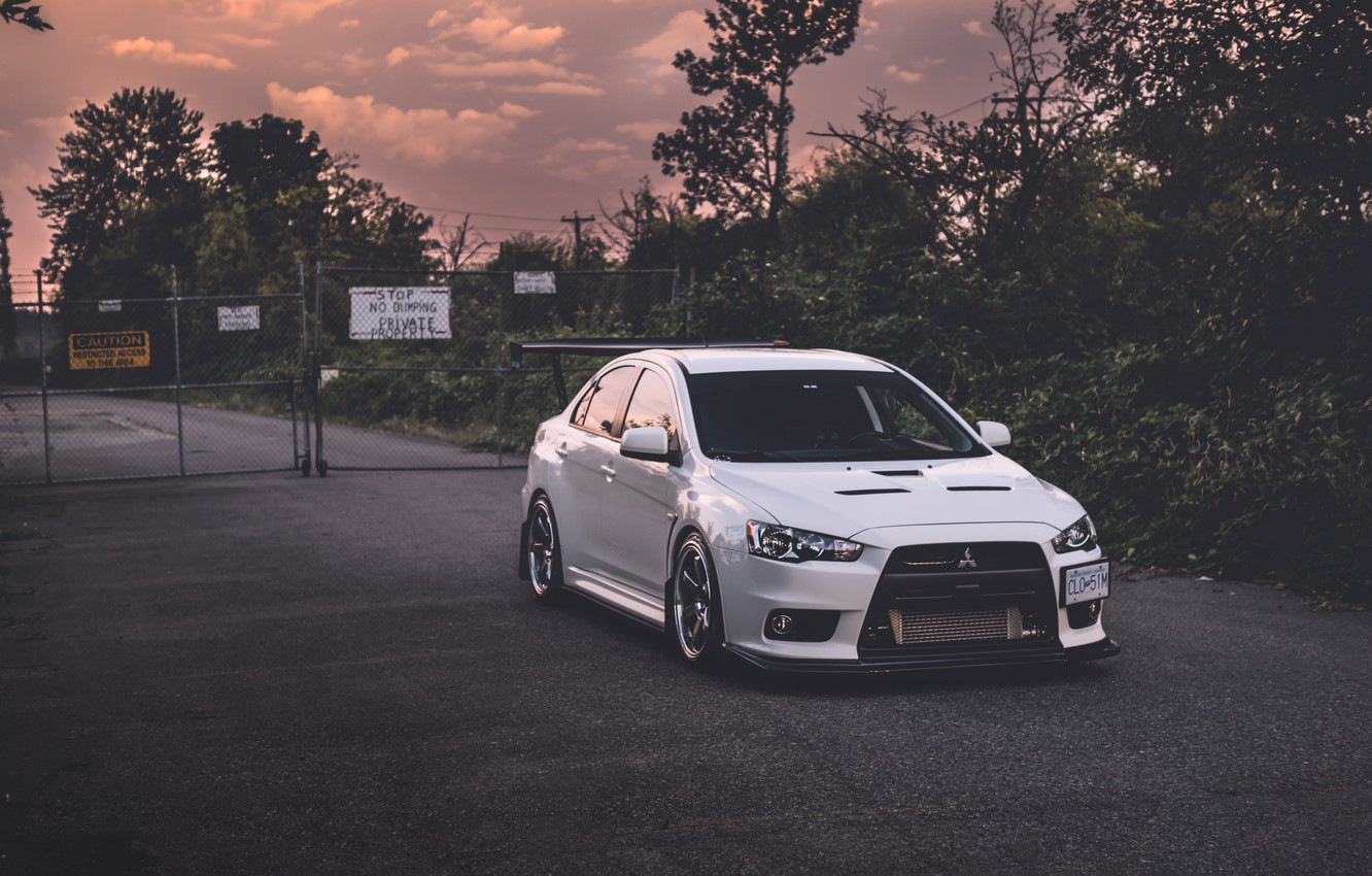 Photo wallpaper Mitsubishi, Evolution, lancer, X, 10