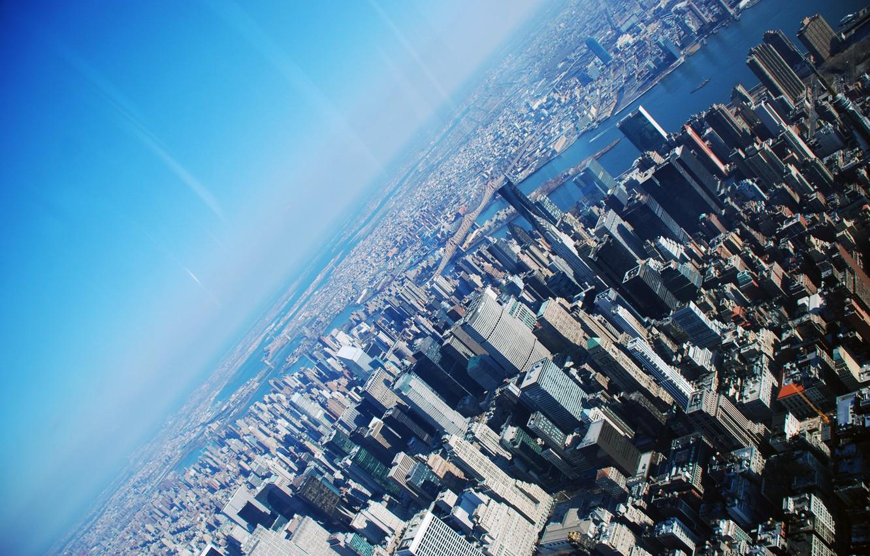Photo wallpaper USA, New York, New York, Skyscreaper, Skyscraper