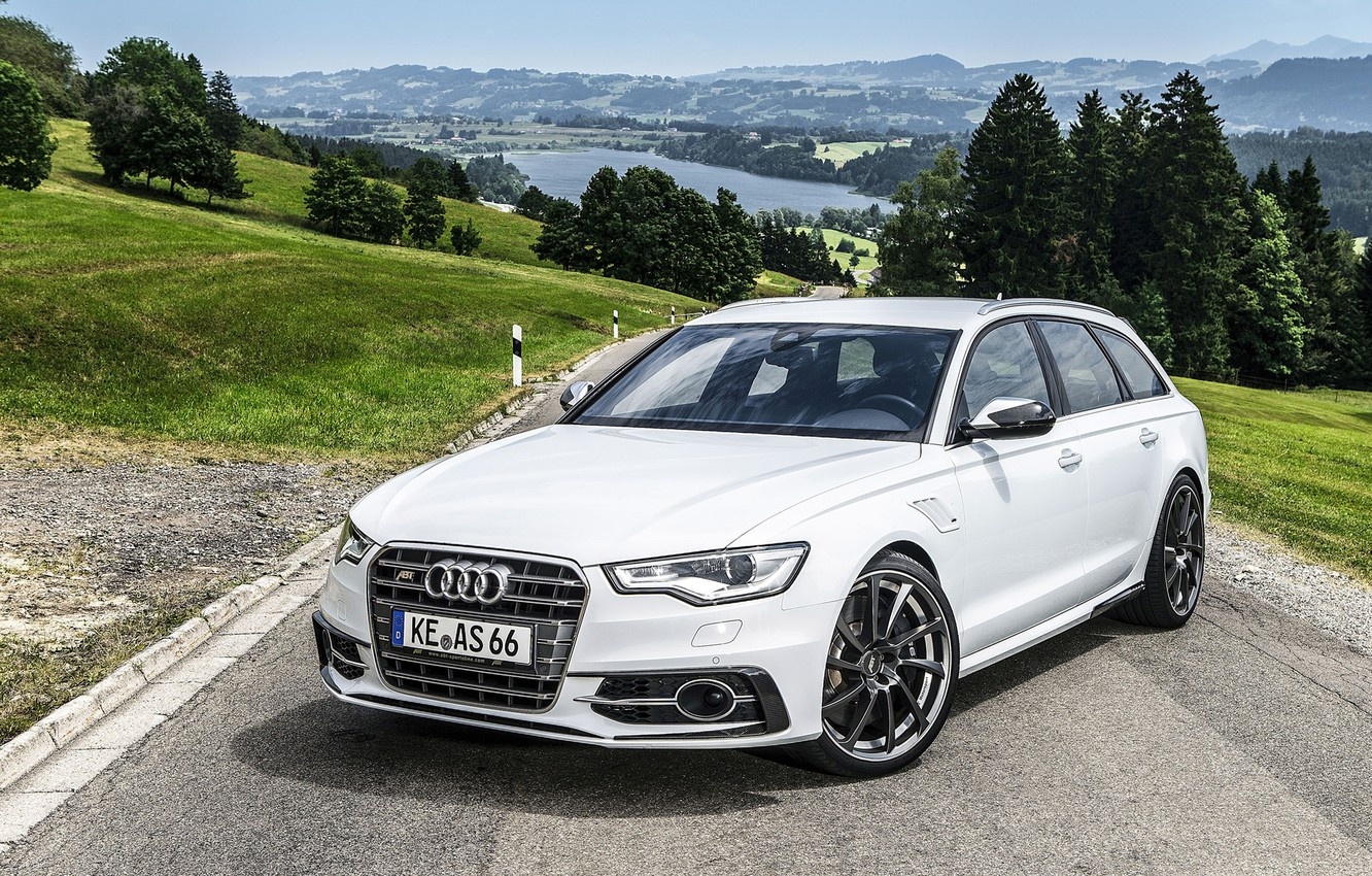 Photo wallpaper Audi, tuning, Audi, the front, universal, AS6-R, Abbot