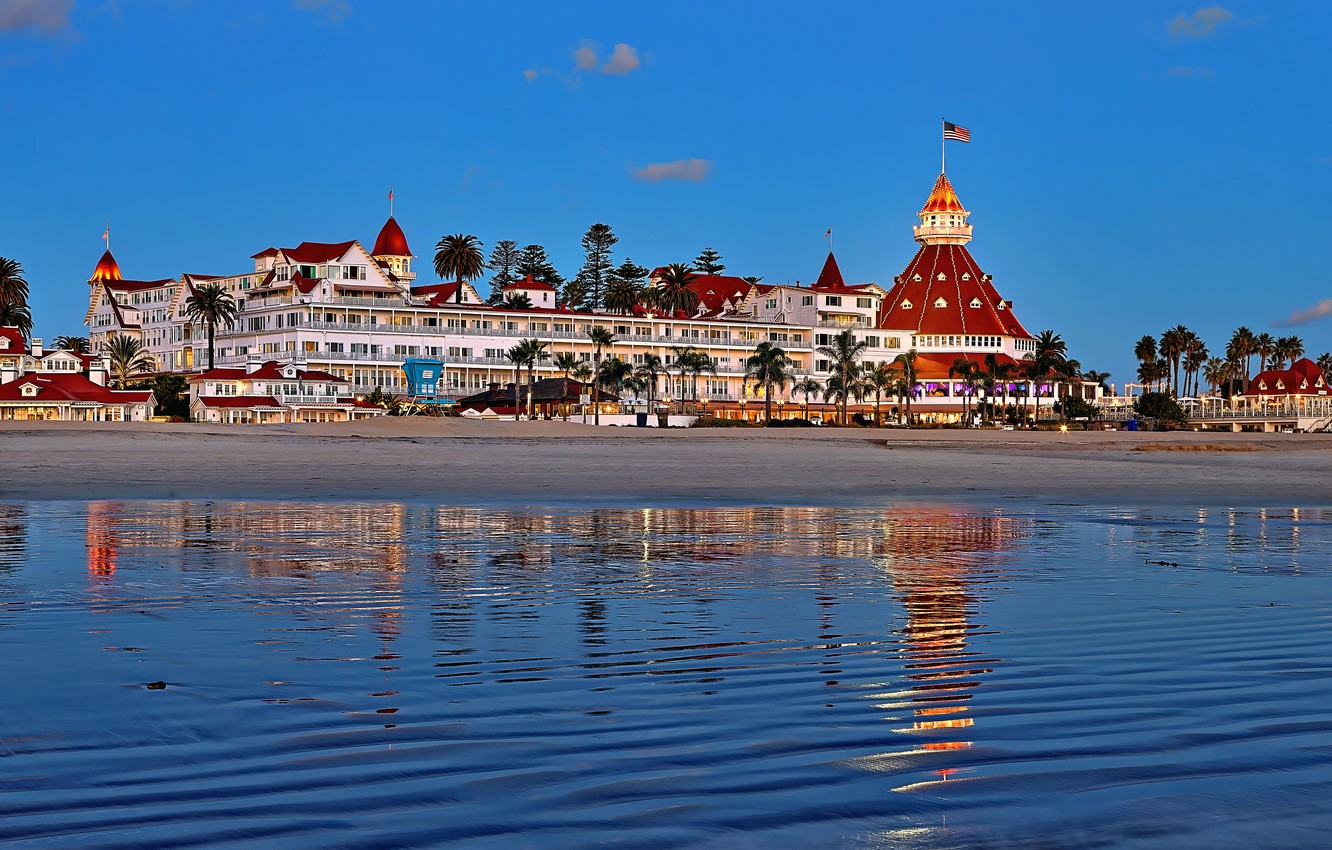 Wallpaper Ca The Hotel Hotel San Diego Del Coronado Images For Desktop Section Gorod Download