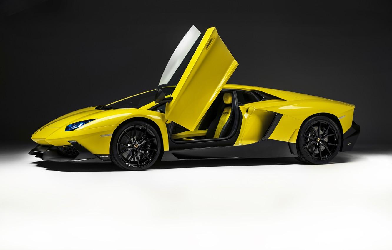 Photo wallpaper background, Lamborghini, door, car, LP700-4, Aventador, 50 Anniversario Edition