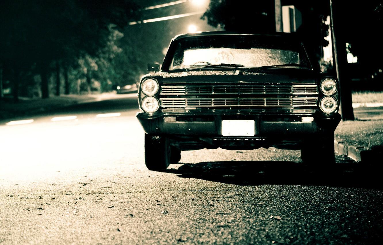 Photo wallpaper Ford, Galaxie
