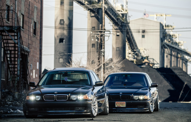 Photo wallpaper lights, tuning, Boomer, BMW, tuning, E38, BMW. 750il