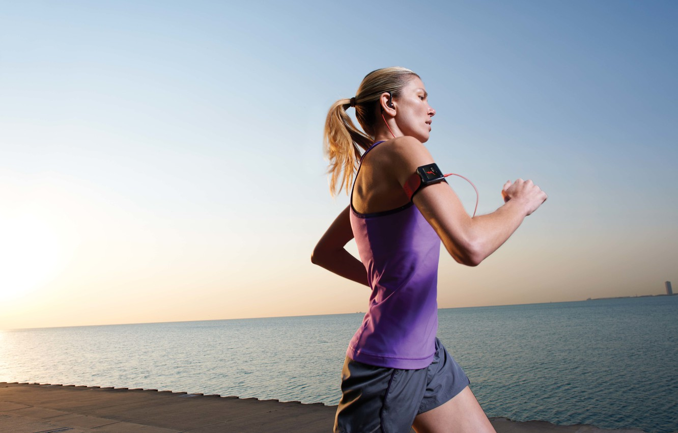 Wallpaper training, running, sportswear, cardio images for desktop, section  спорт - download