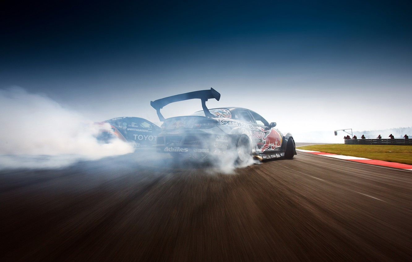 Photo wallpaper drift, Mazda, drift, rx-8