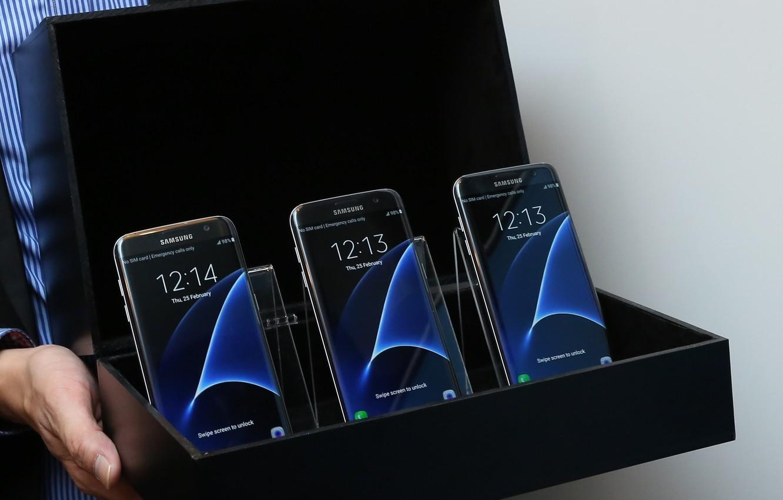Wallpaper Edge Galaxy Samsung Samsung Galaxy S7 Black Box