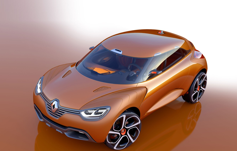 Photo wallpaper Concept, Reno, Renault Captur