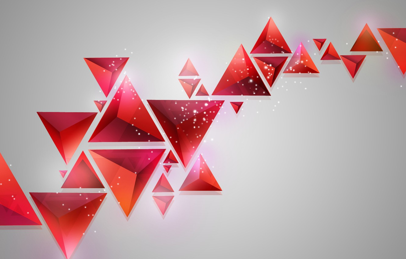 Photo wallpaper background, triangles, geometry, abstract