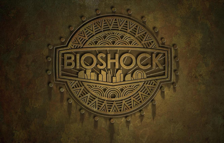 Photo wallpaper logo, rapture, bioshock