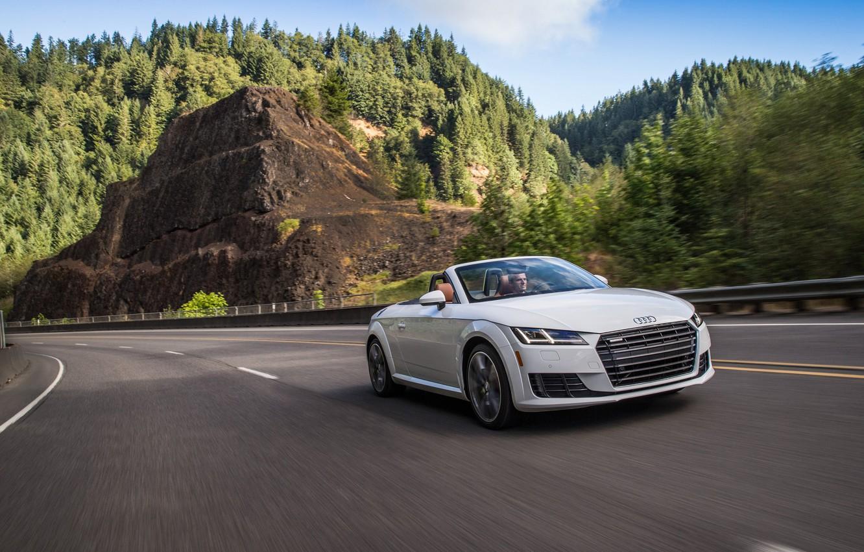 Photo wallpaper Audi, Audi, Roadster, Roadster, quattro, TFSI, US-spec, 2015