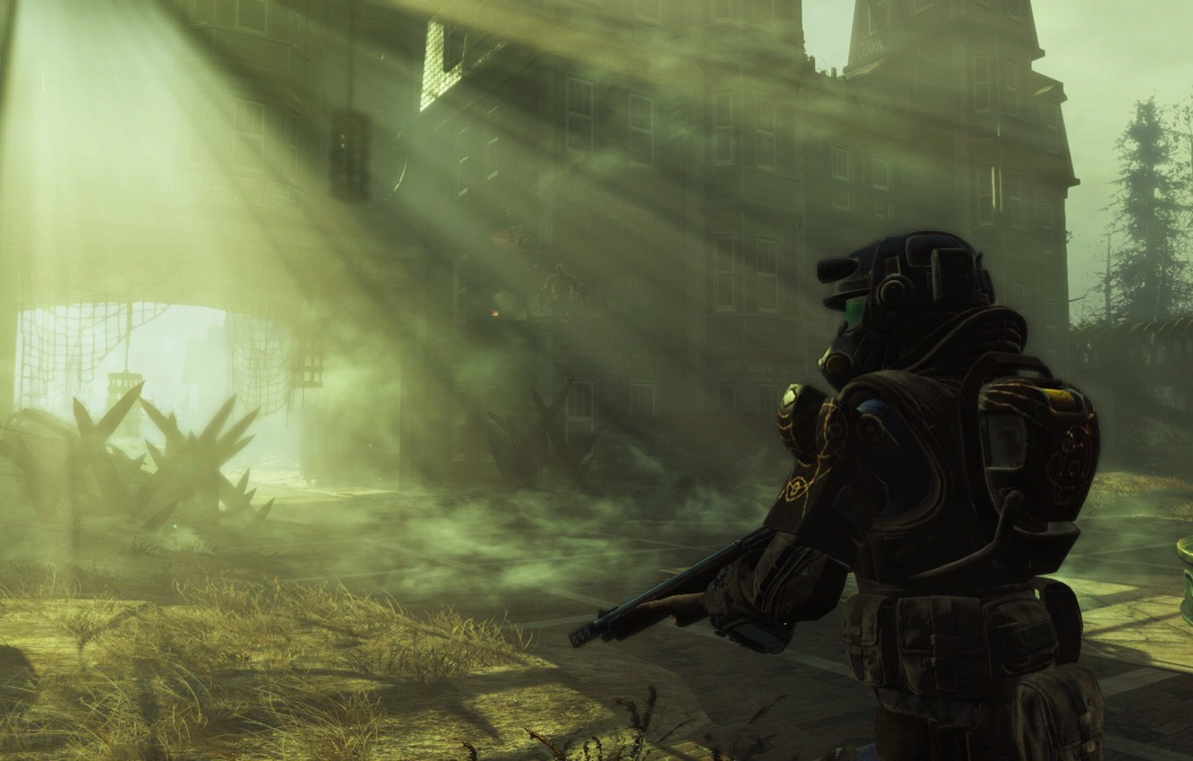 Wallpaper Heath Survival Dlc Power Armor Fallout 4 Far Harbor