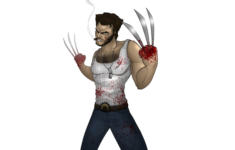 Photo wallpaper Wolverine, X-Men, wolverine, comic, Marvel Comics, X-Men