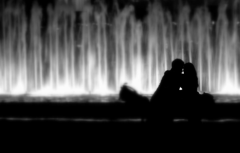 Wallpaper Love Mood Kiss Hugs A Couple Lovers Kiss Mood