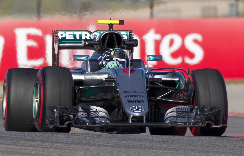 Photo wallpaper mercedes, Formula 1, Rosberg, Champ