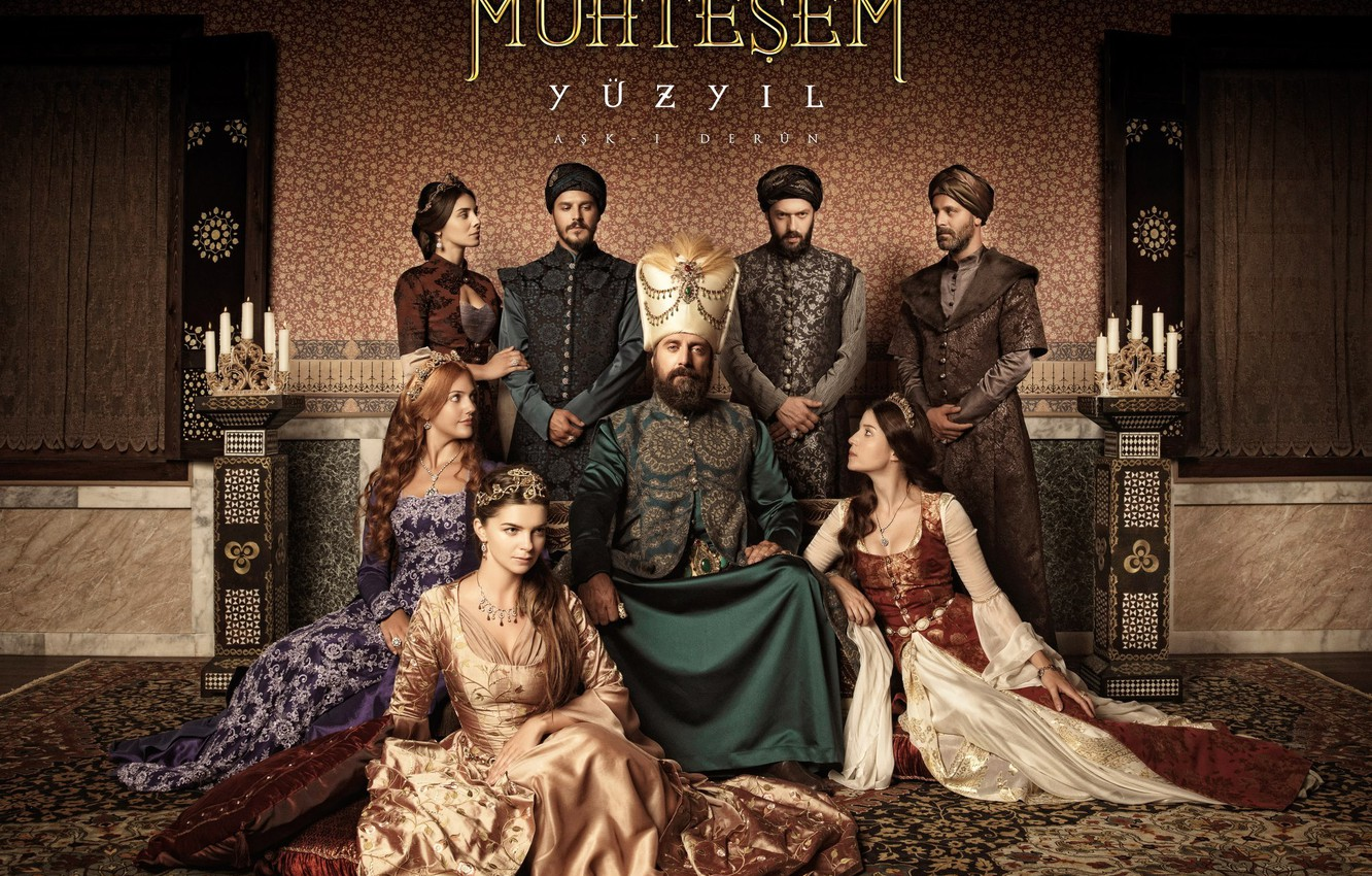 Photo wallpaper family, the series, Magnificent century, magnificent century, dynasty, Sultan