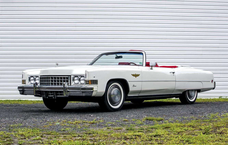 Photo wallpaper Eldorado, Cadillac, convertible, Cadillac, Convertible, 1973, Eldorado